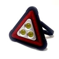 Επαναφορτιζόμενο Φωτιζόμενο Τρίγωνο Led Αυτοκινήτου - Φακός Εργασίας HP-1808