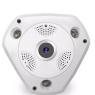 IP Κάμερα Πανοραμικής Θέασης 360ᵒ με Δυνατότητα Καταγραφής