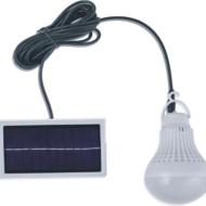 Λάμπα - Αυτόνομο ηλιακό σύστημα με πάνελ 7W  ΗΚ-189