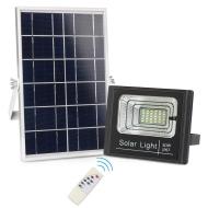 Αυτόνομος Ηλιακό Σύστημα με Προβολέας LED 50 Watt IP 65 με τηλεχειριστήριο