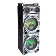 Φορητό ηχείο Bluetooth με μίκτη, LED και 2 ασύρματα μικρόφωνα 113B DTC